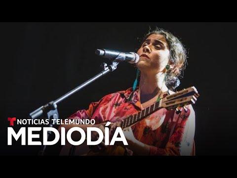 Silvana Estrada, la joven mexicana que hace recordar a Chavela Vargas | Noticias Telemundo