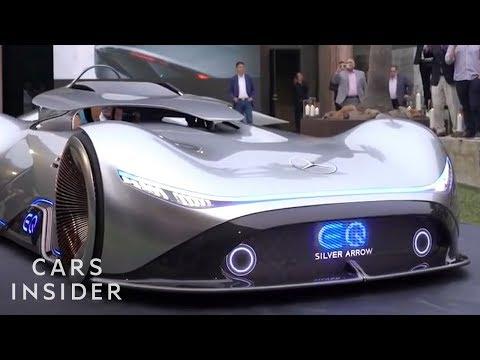 Mercedes-Benz Concept Car Was Modeled After Famous Race Car