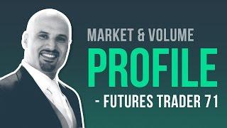 Trading market profile & volume profile w/ Futures Trader 71