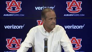 Auburn's Kevin Steele recaps Arkansas, previews Southern Miss