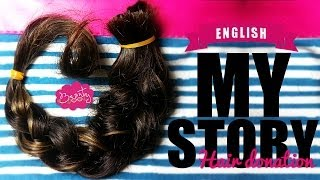 My hair donation story to Children With Hair Loss | ENGLISH Thumbnail