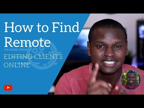 How to Find Remote Video Editing Jobs Online - 3 Platforms