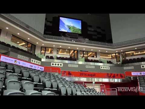 AL SADD (Qatar) – CENTRO SPORTIVO INTERATTIVO GRAZIE A 315 MQ DI LED
