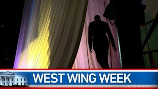 """West Wing Week 08/29/14 or """"Choose the Harder Right Instead of the Easier Wrong"""""""