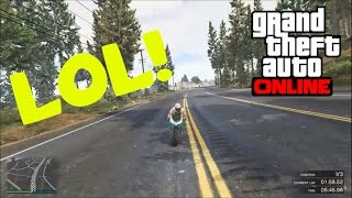 GTA 5 PS4 Online Funny Moments - I Ain