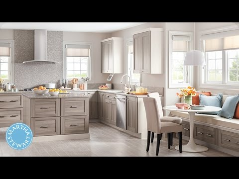 Martha Stewart Talks PureStyle Kitchen Cabinets - Martha Stewart - YouTube
