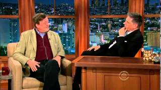 Craig Ferguson  -the late late show-  22. May 2013 guest: Stephen Fry