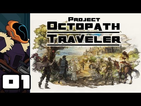Let's Play Project Octopath Traveler Demo - Switch Gameplay Part 1 - Help Me Old Man!