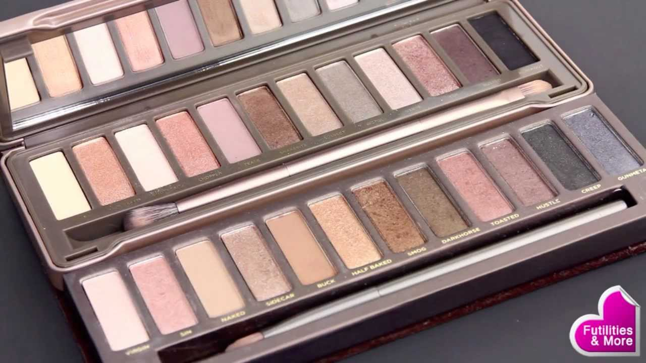 Urban Decay Naked vs Naked 2 Eyeshadow Palette - Makeup