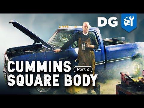 '85 Dodge RAM CC W350 Dually 5.9 Cummins 12v Diesel Swap [EP2]