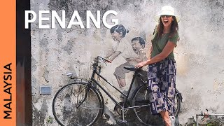 MALAYSIA, PENANG: George Town tour   street art | Vlog 1