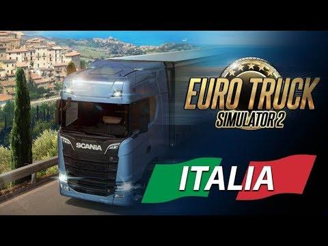 Si va in Sicilia! Euro Track Simulator 2 ITA - DLC ITALIA