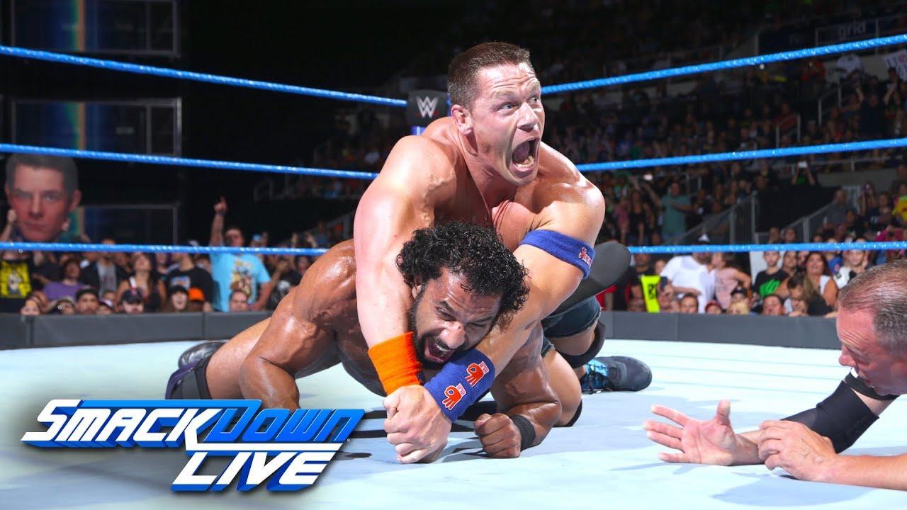 John Cena vs. Jinder Mahal: SmackDown LIVE, Aug. 15, 2017