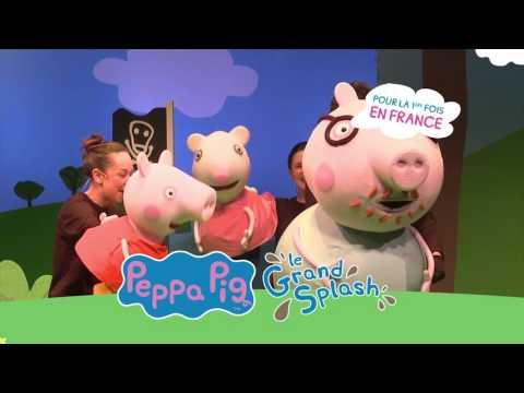 Peppa pig en spectacle pour la premi re fois en france - Peppa pig francais piscine ...
