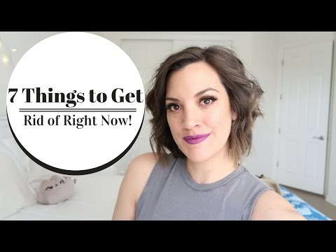 7 THINGS TO GET RID OF RIGHT NOW | Bathroom | 6 Months of Minimalism