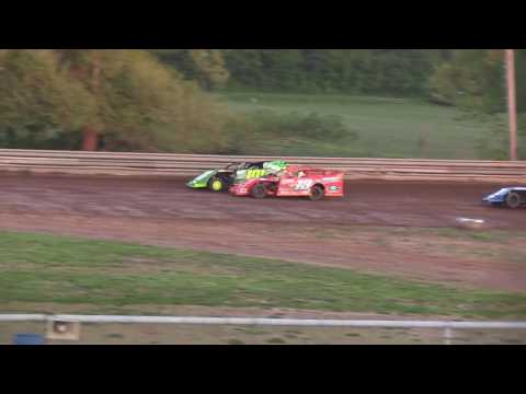 Ohio Valley Speedway Modified Heat 5-13-17