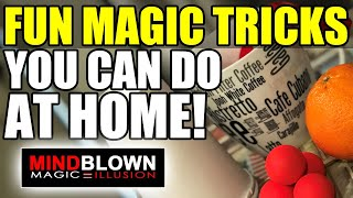 Magic Tricks you can do at home RIGHT NOW!