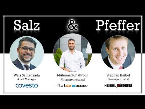 Muhammad Chahrour, CFO von Flatex, bei Salz & Pfeffer am Mittag