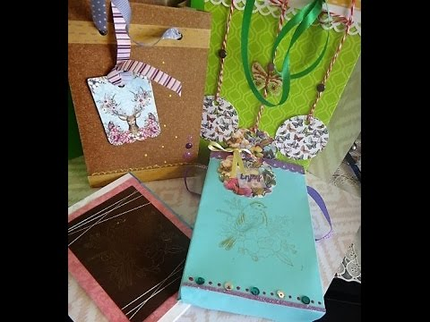 "DIY GIFT BAGS with ""Love From Lizi Mini-Packs - Bohemian"""