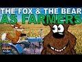 The Fox and the Bear as Farmers - Animated Norwegian Folktales
