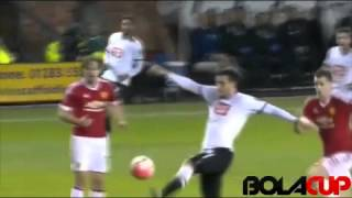 Cuplikan Gol FA Cup : Derby County 1 - 3 Manchester United