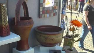 meet Steve Cunningham, potter from Crescent City, Fl., cunninghampottery#2@gmail.com