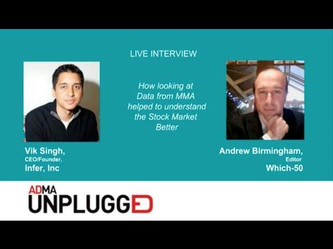 ADMA Unplugged Webinar: Vik Singh, CEO/Founder of Infer