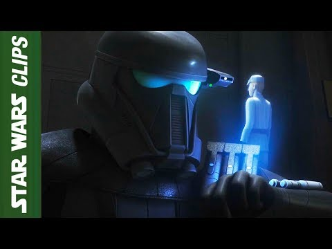 Death Troopers Speaking English  in Rebels  | Star Wars Clips