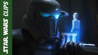 Death Troopers Speaking English  in Rebels  | Star Wars Clips