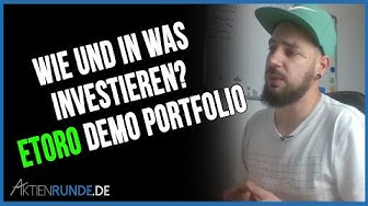 etoro Demo Portfolio - Wie und in was investieren?