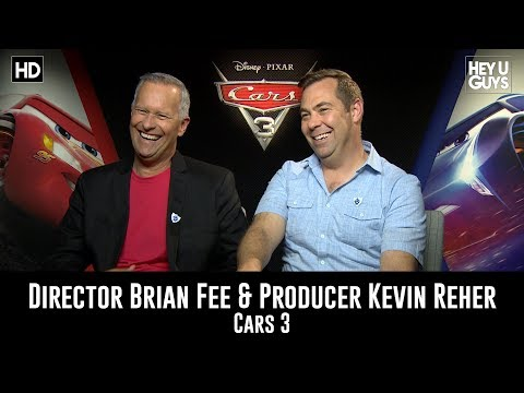 Cars 3 Movie Producer Kevin Reher & Director Brian Fee Exclusive Interview