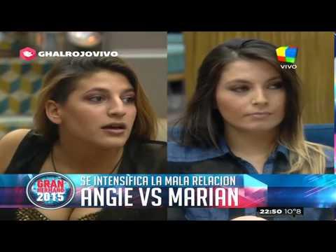 OFICIAL: Angie le declaró la guerra a Marian