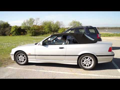 BMW E36 328i Convertible Roof Test