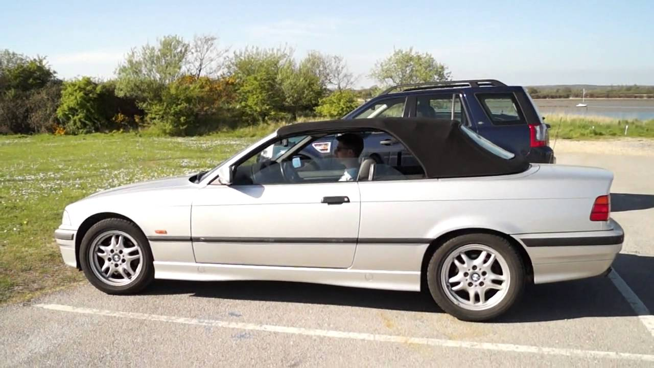 bmw e36 328i convertible roof test youtube. Black Bedroom Furniture Sets. Home Design Ideas
