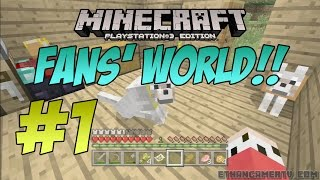 EthanGamerTV Fans' Minecraft World!! #1 (KID GAMING)