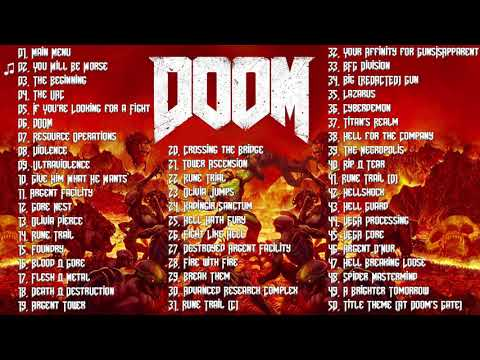 DOOM 2016 - FULL SOUNDTRACK OST