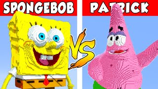 SPONGEBOB vs PATRICK – PvZ vs Minecraft vs Smash