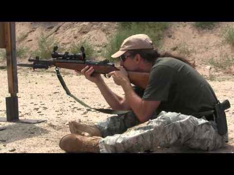 2-Gun Action Match, July 2013 (M1 and SVT-40)