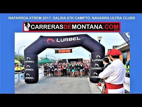 Salida Nafarroa Xtrem 2017 67km   Campeonato Navarra Ultra trail Clubs