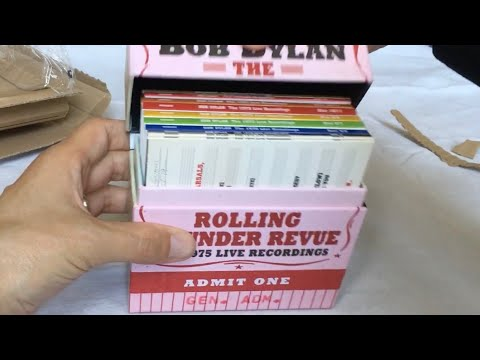 UNBOXING Bob Dylan – The Rolling Thunder Revue: The 1975 Live Recordings (14-CD boxed set) Mp3