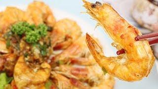 空中廚房- 蒜香奶油蝦