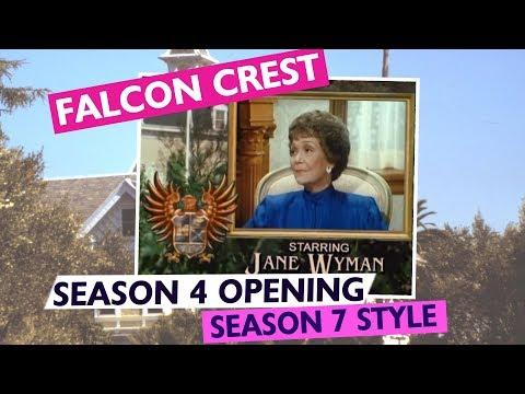 FALCON CREST  Season 4  Season 7 style