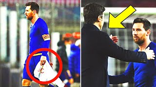 BARCELONA PSG 1:4 THIS IS WHAT HAPPENED AFTER THE MATCH! MESSI WAS INVITED TO PARIS BY POCHETTINO?