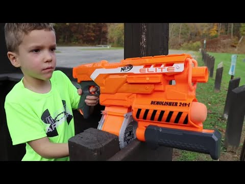 Nerf War:  The Playground