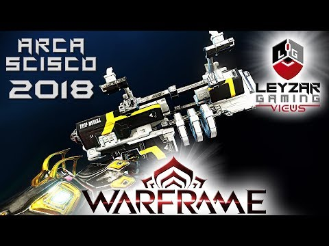 Arca Scisco Build 2018 (Guide) - The Tactical Pocket Monster (Warframe Gameplay) thumbnail