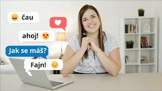 Учите чешский правильно!   Урок 1   Уроки чешского языка с носителем для начинающих.