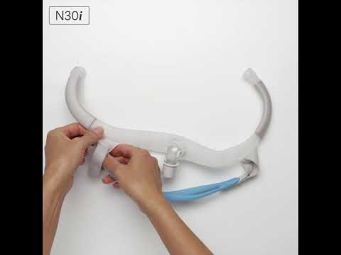 resmed-airfit™-n30i---disassembly-instructions---nasal-cradle-cpap-mask