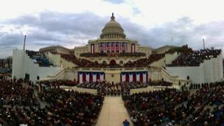 360 video: Watch the Inauguration of President Donald Trump
