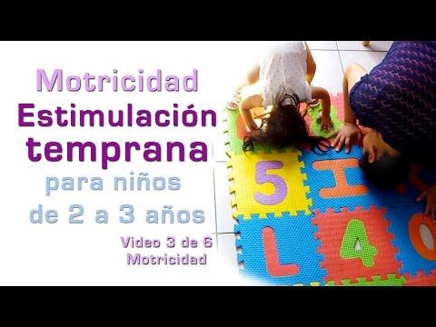 MOTRICIDAD-Estimulación Temprana niños de 2 a 3 años  3/6