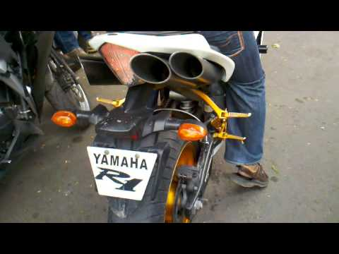 2008 yamaha r1 with toce exhaust startup and revving youtube for Toce exhaust yamaha r1
